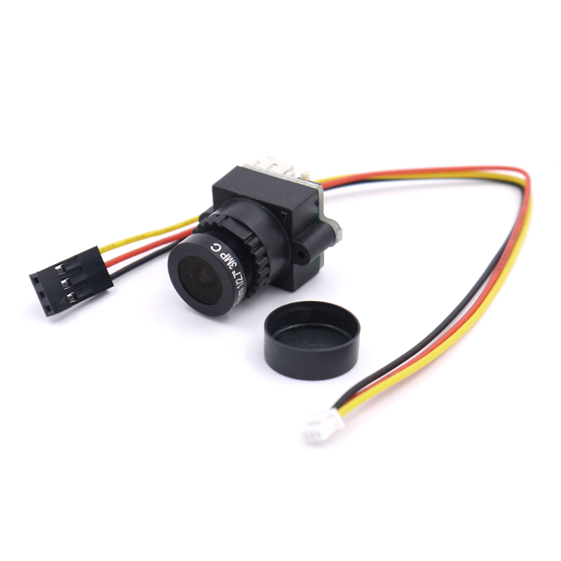 FPV Mini Digital Video Camera FPV-1000TVL 1000 TVL Line 2.8mm NTSC PAL w/ Camera lens 4 way live production switcher video mixer four channel ntsc pal video switch cmx109