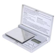 500g/0.1g 200g/0.01g LCD High Precision Electronic Pocket Gold Jewelry Scale Balance Weighing Tool Stainless Steel Scales