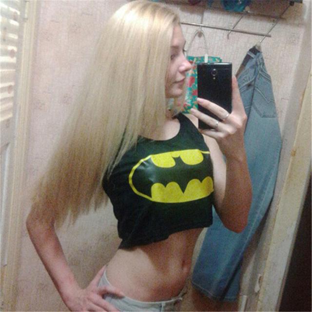Batman Crop Top (Woman)