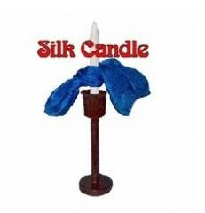 Silk Candle Tied  - Magic Trick,Accessories,card,stage/close up magic props,mentalism,comedy floating candle magic props white orange black