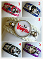 24pcs/lot The Vampire Diaries daisy Bracelet for Girls Glass bracelet Handcuffs bracelet Cartoon Movie Charms bracelet