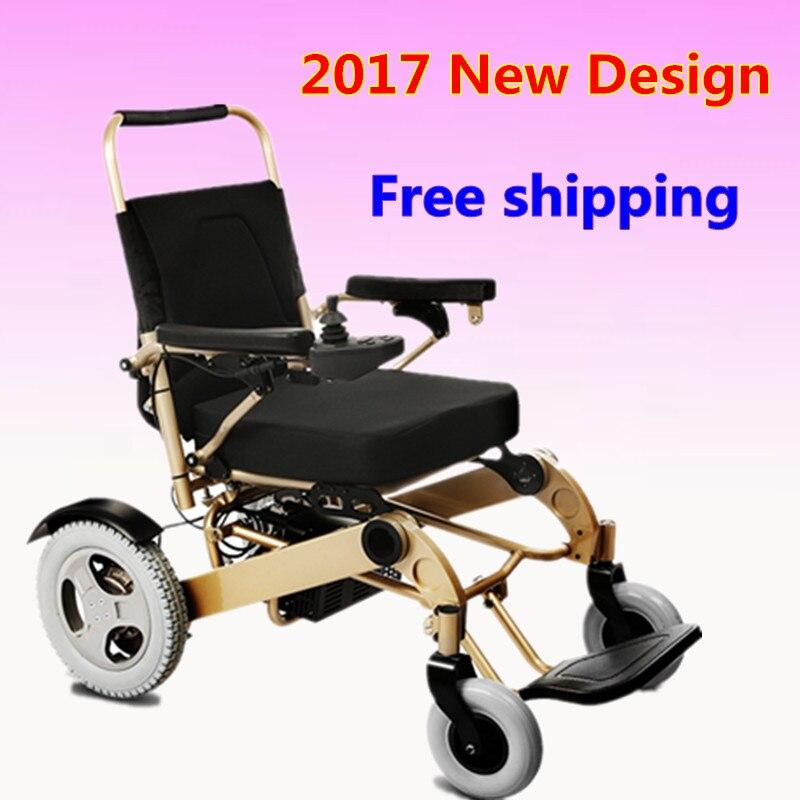 2018 Heißer Verkauf Lithium-batterie Faltbare Elektro-rollstuhl Für Behinderte, ältere Menschen Geschickte Herstellung