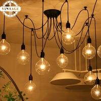 Heavenly Maids Scatter Blossoms Home Lighting Vintage Decprative Pendant Lamps Industrial Creative Loft Pendant Lights