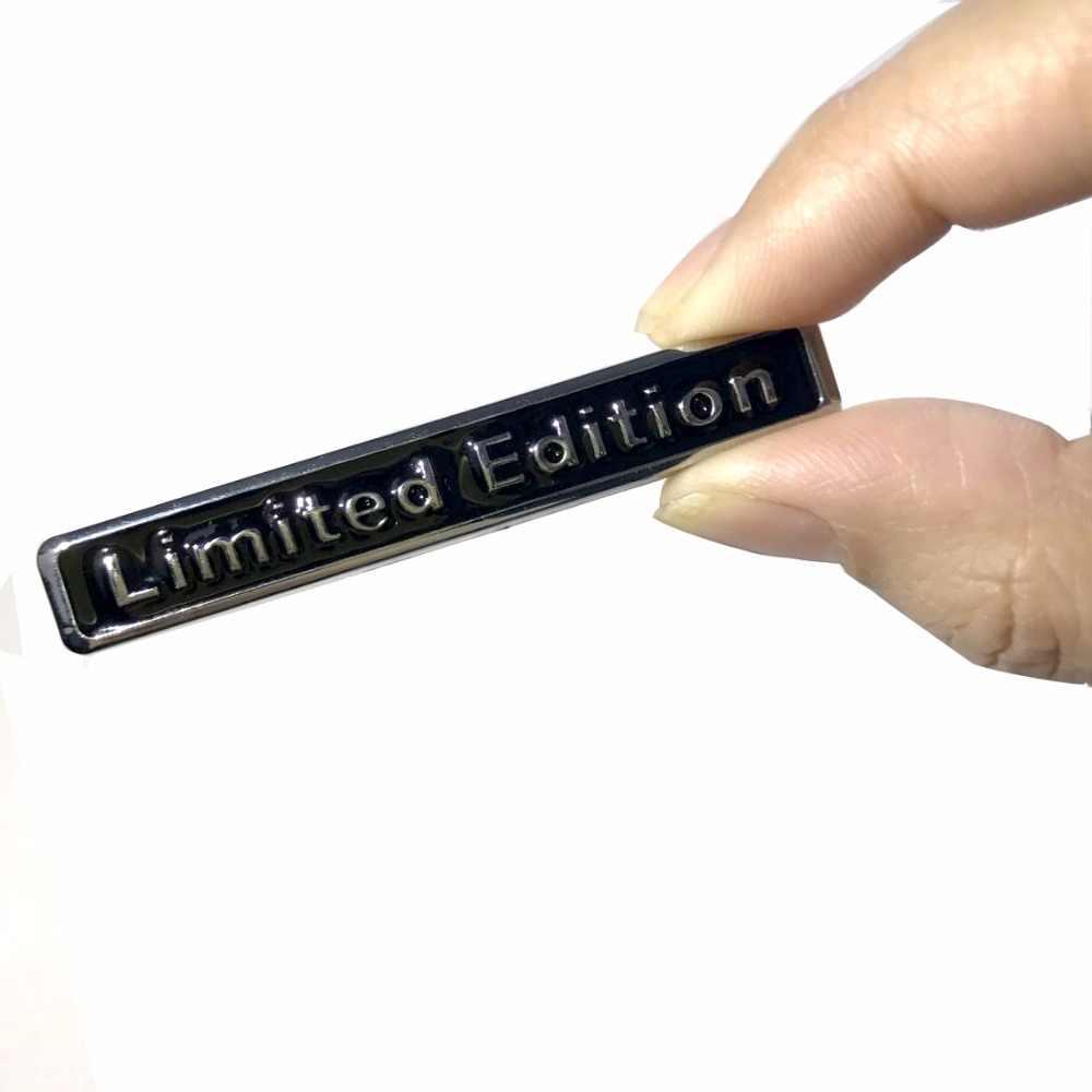 3D Edición Limitada Metal Auto pegatina de la insignia de la etiqueta engomada de la motocicleta cromo emblema para Suzuki Honda Kawasaki HARLEY YAMAHA