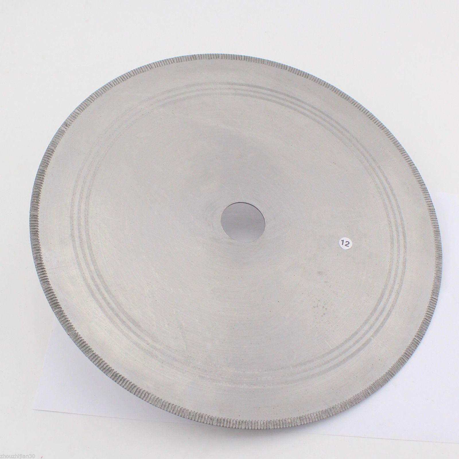 16 inch Lapidary Diamond Saw Blade Notched Rim 1.6mm Rock Slab Arbor 1 inch ILOVETOOL 6 inch lapidary concave arc diamond coated grinding wheel grind spherical 6 mm ilovetool