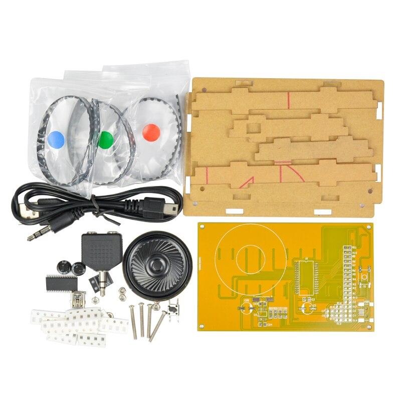 Aiyima LED музыкалық спектралды талдағышы - Басты аудио және бейне - фото 3