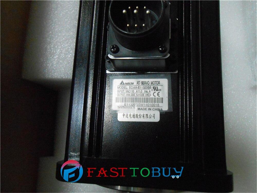 Delta AC Servo moteur 220 V 2KW 9.55NM 2000 tr/min 130mm ECMA-E11320SS avec serrure joint dhuile frein nouveauDelta AC Servo moteur 220 V 2KW 9.55NM 2000 tr/min 130mm ECMA-E11320SS avec serrure joint dhuile frein nouveau