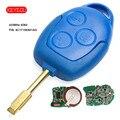 KEYECU дистанционный брелок 3 кнопки 433 МГц 4D63 чип для Ford Transit WM VM 2006-2014 P/N: 6C1T15K601AG FO21