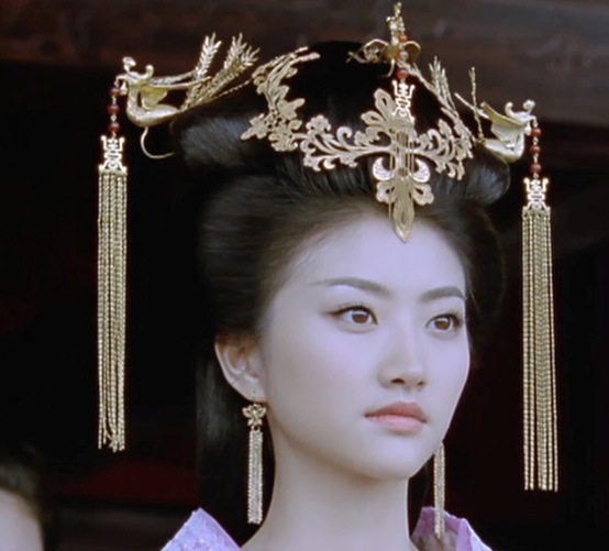 TV Play The Warring States Actress Jing Tian Empress Full Set Hair Tiaras Handmade Antique Pinach Artwork Hanfu Accessory oriental beauty costume hanfu hair accessory set princess guantao hair set tv play schemes of a beauty full set hair jewelry