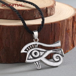 Vintage The Eye Of Horus Charming Pendant Necklace Lucky God Ancient Egyptian Faith Amulet Necklace Jewelry for women men gift