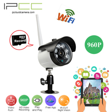 IPCC Hot Selling Mini 960P Outdoor Wireless Wifi IP Security Camera with Smart Phone Connectivity Night Vision CCTV Security Cam