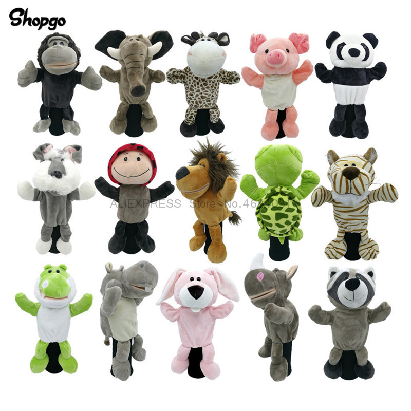 All Kinds Of Animals Golf Headcovers Driver Woods Golf Covers Fit Up To 460cc Men Lady Mascot Novelty Cute Gift