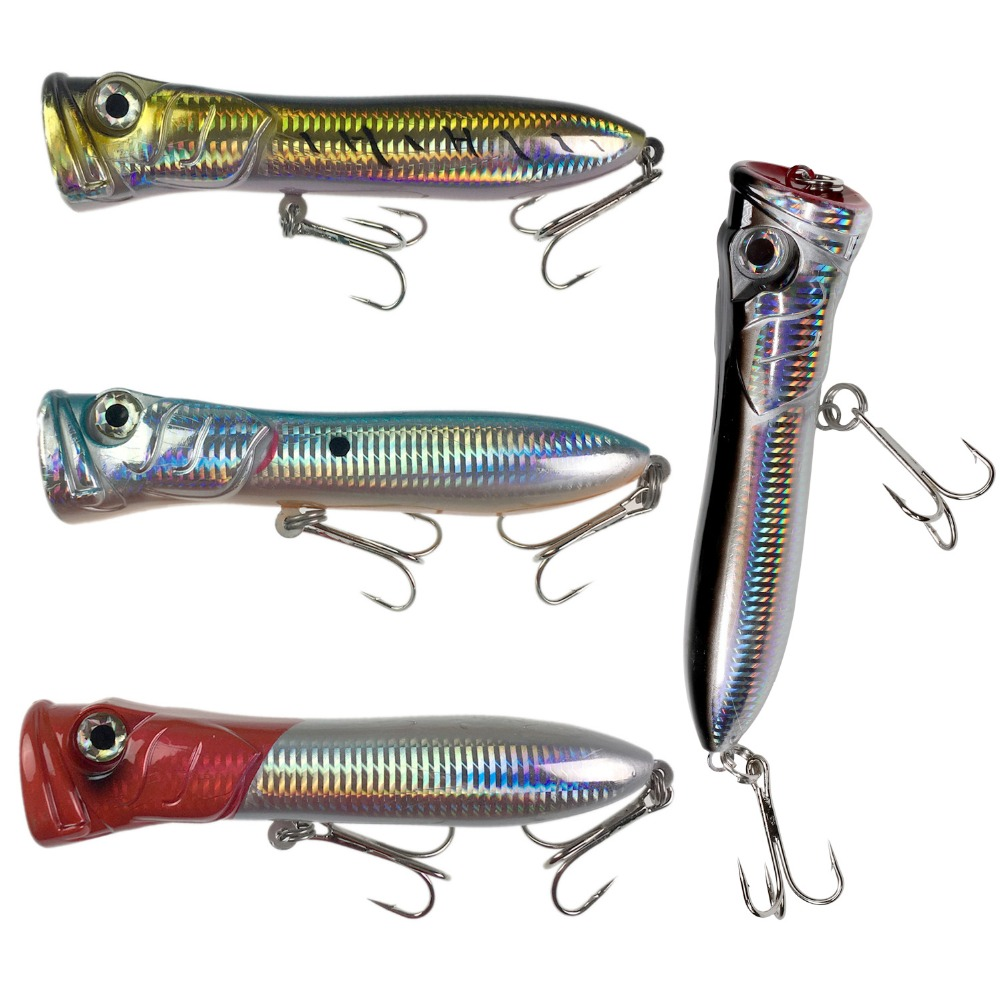 thkfish Fishing Hard Lures Baits 3.7oz 7in Saltwater Popper GT Offshore Big Game Top Water Tuna Lures Heavy Duty Hard Lures Baits