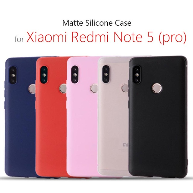 low priced 87127 eef24 Case for Xiaomi redmi note 5 6 7 silicone cover 5.99