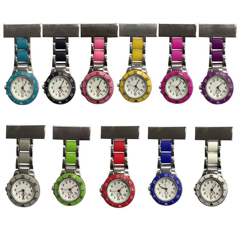 Nurse Pocket Watches Arabic Numerals Quartz Brooch Watch Doctor Nurse Hanging Pocket Watches TT@88