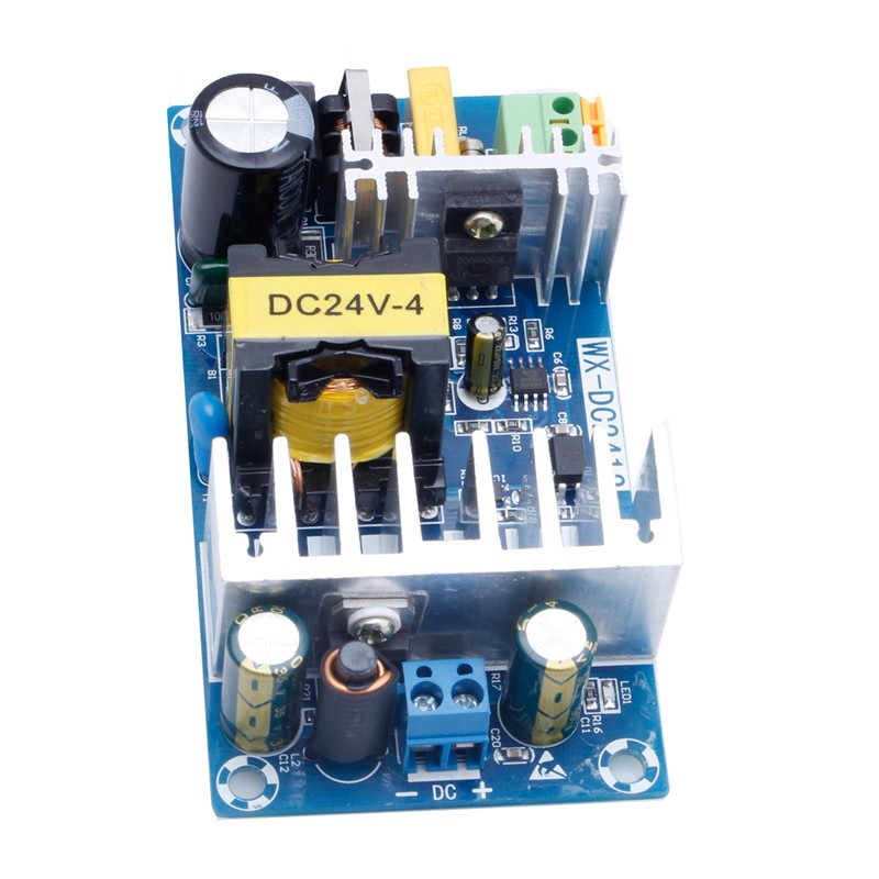 Modulo di Alimentazione CA 110 v 220 v a DC 24 V 6A AC-DC Switching Power Supply Board