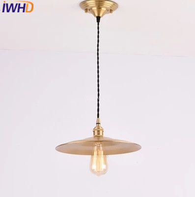 Iwhd Kupfer Stil Loft Industrielle Anhanger Leuchten Retro Vintage