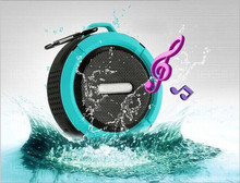 AZN Waterproof Outdoor Wireless Bluetooth 4.0 Stereo Portable Speaker Built-in mic Shock Resistance Speakers with Bass цена