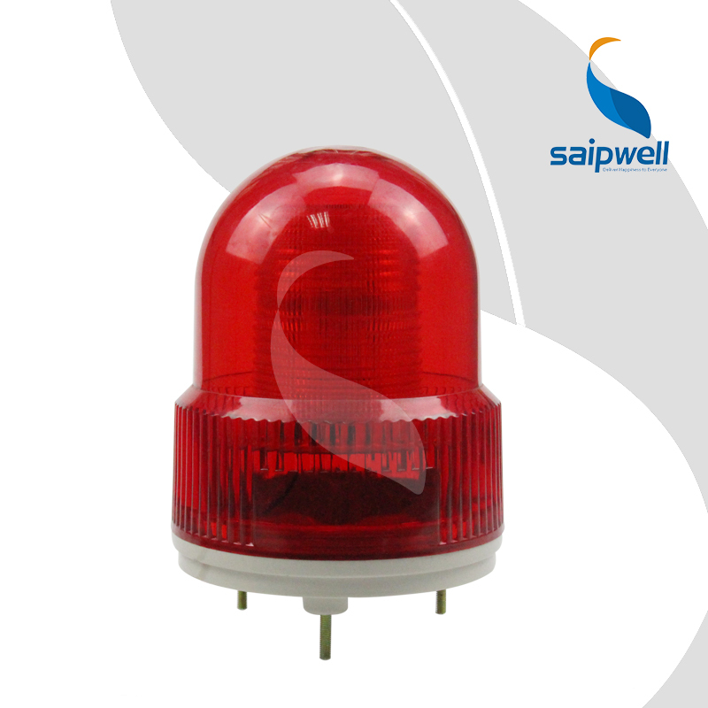 Diamètre 120mm. Voyant stroboscopique à LED fixe à vis 2 W avec Buzzer/voyant ABS industriel (LTE-5122J)