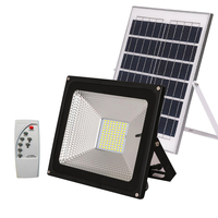 HAMRVL Solar Flood light Projector with Light Sensor Solar Power IP65 LED Flood Light Outdoor Garden Security Wall Lamp 10W