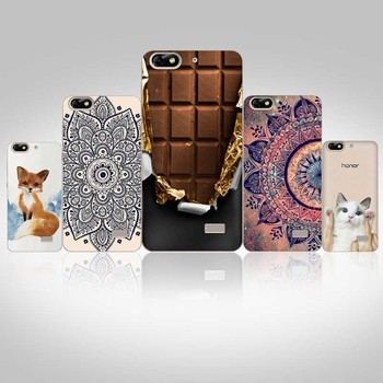 Soft TPU 5.0 Silicone Painted Pattern Honor 4C G Play Mini Phone Case For Huawei Honor 4C Case Cover Back Fundas Capas