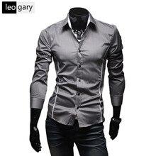 M--xxxl тонкой стильный покроя свободного горячие длинными рукавами футболки рубашка рубашки