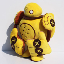 New Arrival 14″35cm Game Blitzcrank Robot Stuffed Plush Toys Soft Dolls For Children Free Shipping