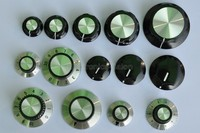 14 Types Knob Assortment Kit For 1 4 Round Shaft Potentiometer Or Switch