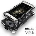 Новый Телефон Случае для Meizu MX6 случай Ультратонкий 360 градусов защиты Металлической крышкой для Meizu MX6 Броня Телефон сумка