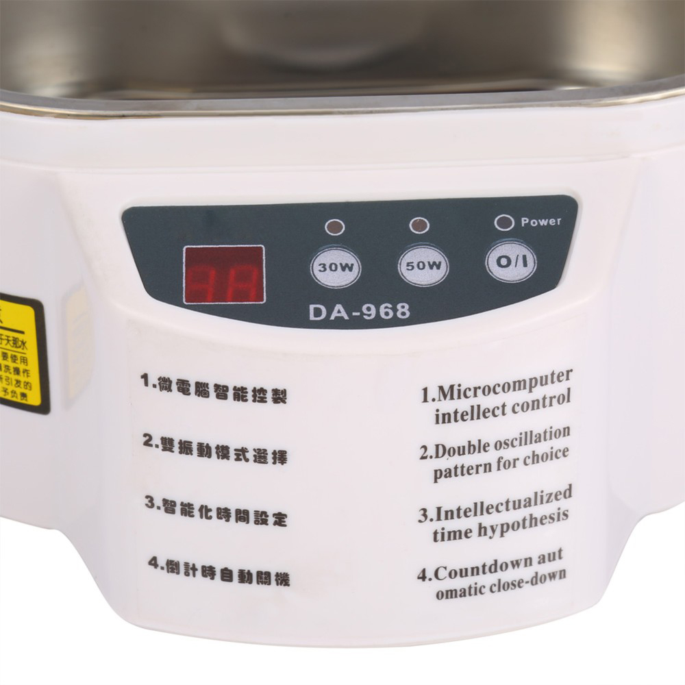 30w 50w 220v Mini Ultrasonic Cleaner Jewelry Glasses Circuit Board Rice Cooker C Cooking Timer Cleaning Machine Intelligent Control In Cleaners From Home