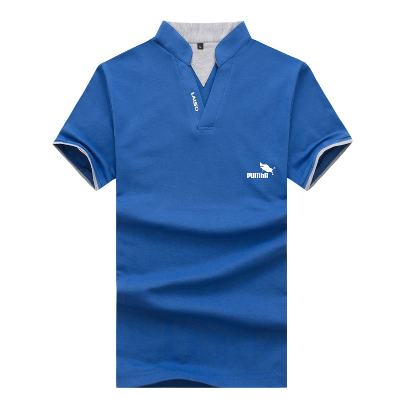 Men's   Polo   Shirt Men Cotton Short Sleeve Shirt Sportspolo Jerseys Golftennis Plus Size M-5XL Camisa   Polos   Homme