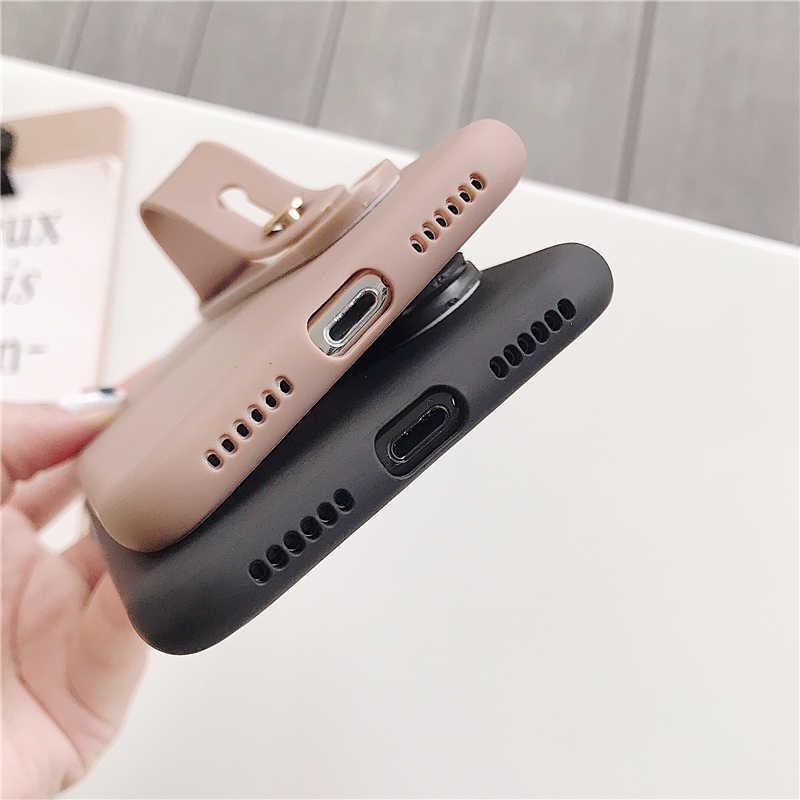 Ремешок на запястье руки силиконовый браслет чехол для Redmi 4A 4X5 5A 6 6A 7 Go 6 Pro S2 Y2 5 Plus Note 4 4X K20 7A кольцо-подставка с защитную крышку