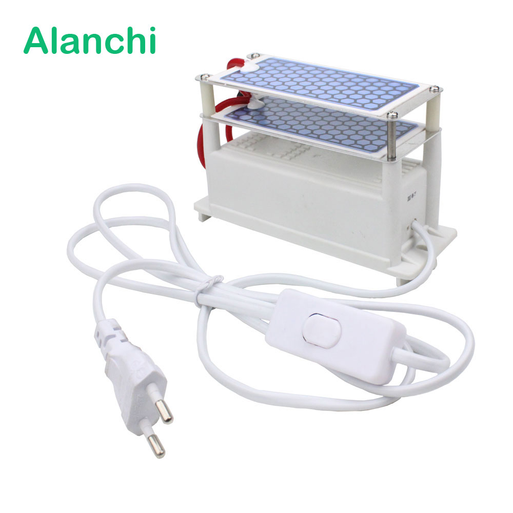 110v 7000 Mg H Ceramic Plate And Circuit Board Ozone Generator Air Purifier 10g 220v Duble Intergrated Ozonizer