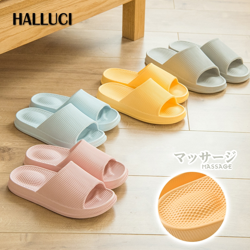 Simple home slippers shoes women couples household shoes massage zapatos mujer casual Sandals bathroom flip flops
