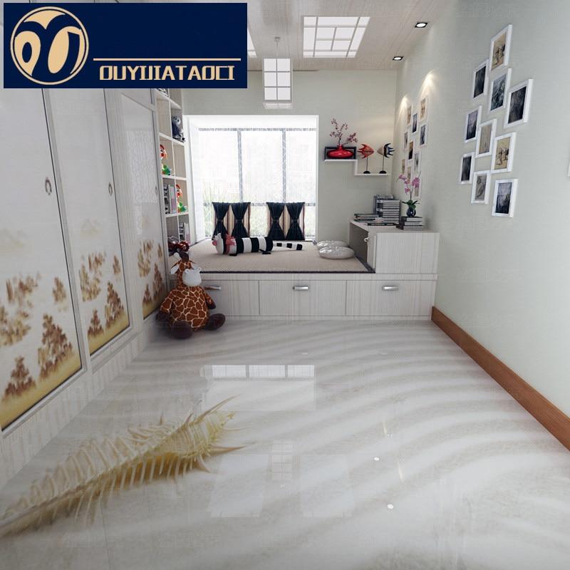 new Mediterranean style Antique brick Bedroom Non slip Floor tile ...
