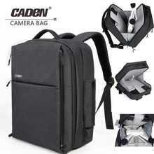 2018 CADeN for Xiaomi mi DJI Drone Bag Business Travel Bag Waterproof Nylon with Rain Cover for Xiaomi Drone Backpack caden W8
