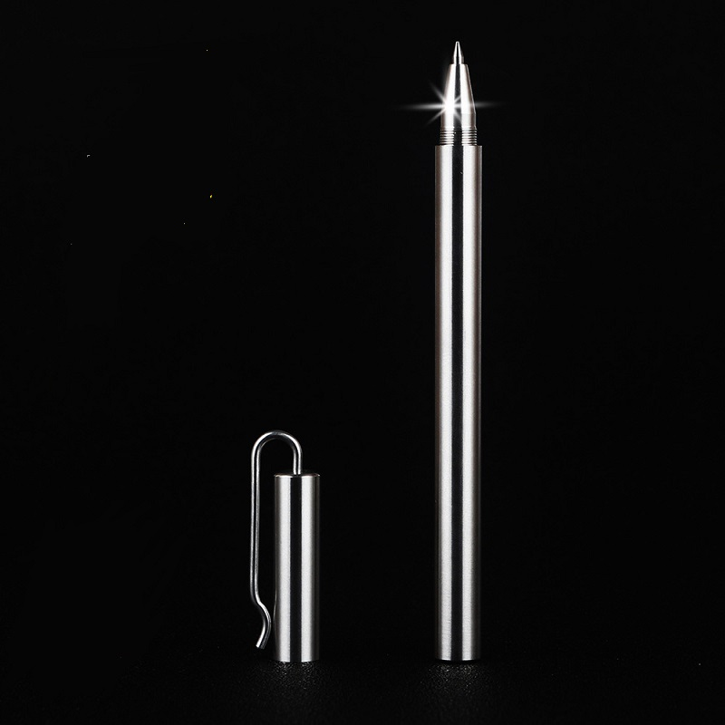 clip type high quality stainless steel pen signature metal pen handmade 0.5mm wholesale 5pcs/lot carbon steel scriber marking etching pen aluminum copper metal engraver tool s018y high quality