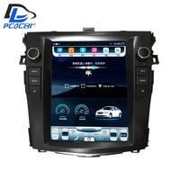 32G ROM вертикальный экран android автомобильный gps Мультимедиа Видео Радио в тире для Toyota Corolla auris 2007 2012 автомобилей navigaton