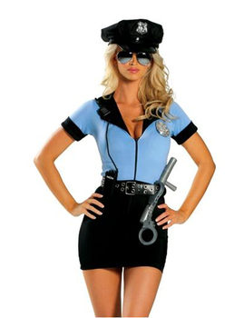 Police Fancy Halloween Costume 1