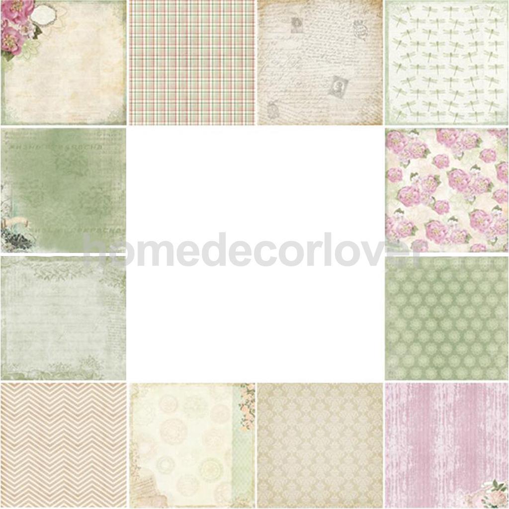 Scrapbook paper cheap - 48pcs Floral Scrapbooking Paper Craft Diy Card Making Photo Album Design Paper China Mainland