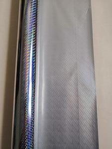 Image 2 - Hot stamping foil  holographic foil silver color B08 meteor design hot press on paper or plastic  heat stamping film
