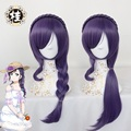 Tojo Nozomi Cosplay Wig Lovelive Love Live For Women Heat Resistant Synthetic Curly  Hair