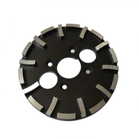 GD47 Twenty Segments Diamond Grinding Cup Wheel 10 Inch Grinding Pads in Abrasive Tools for Concrete Terrazzo Floor 3PCS