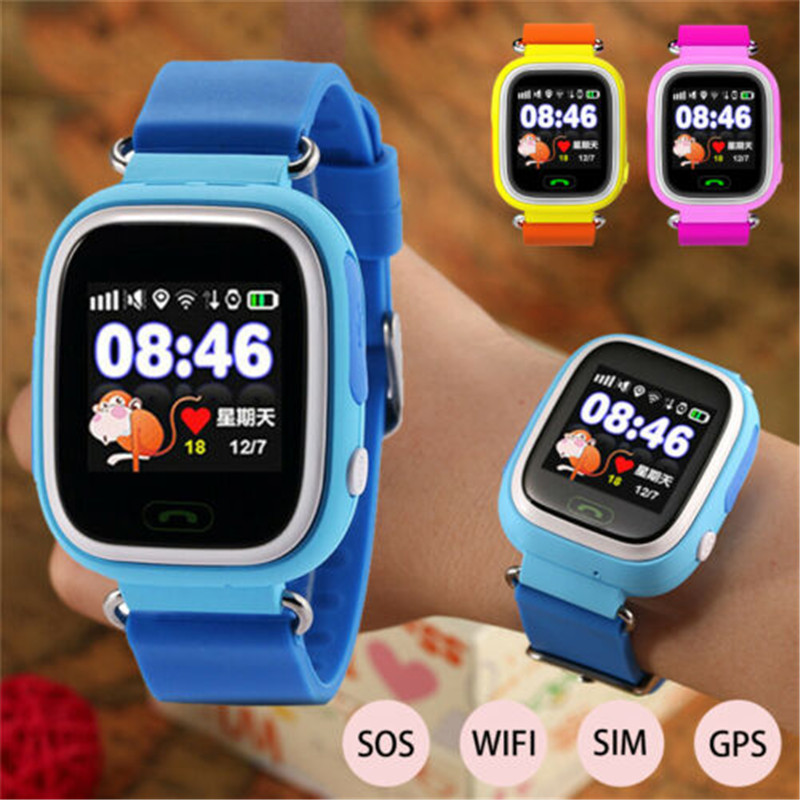 Fashion Q90 Children Kids GPS Smartwatch SOS SIM Card WiFi Watch 2G Smart  Watch Kids Smart Watch - Special Deal #961C7 | Diggits