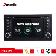 AutoRadio 2 Din Android 9.0 Car DVD Player  for Audi A4 B8 S4 B6 B7 RS4 8E 8H B9 Seat Exeo 2002-2008 GPS Navigation BluetoothUSB 4d0411327g for audi a4 b6 b7 a6 r8 a8 rs4 rs6 for seat exeo 2009 2012 front stabilizer sway bar rubber bush mount 4d0 411 327 g