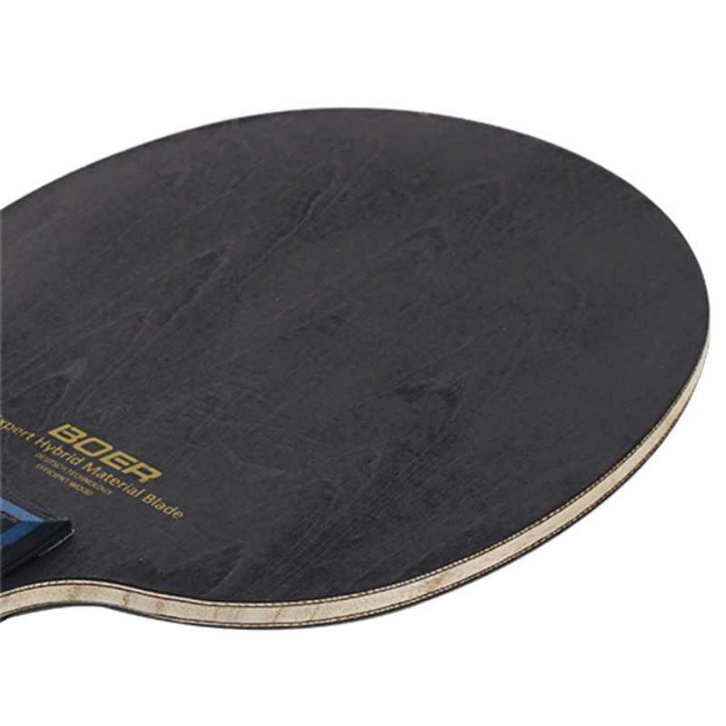 BOERAL Table tennis bat floor ping pong bottom plate Horizontal shot pat on composite wholesale processing custom 1