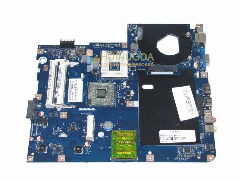 MBPPB02001 LA-4854P For acer aspire 5332 5732Z laptop motherboard intel gl40 ddr3 full test