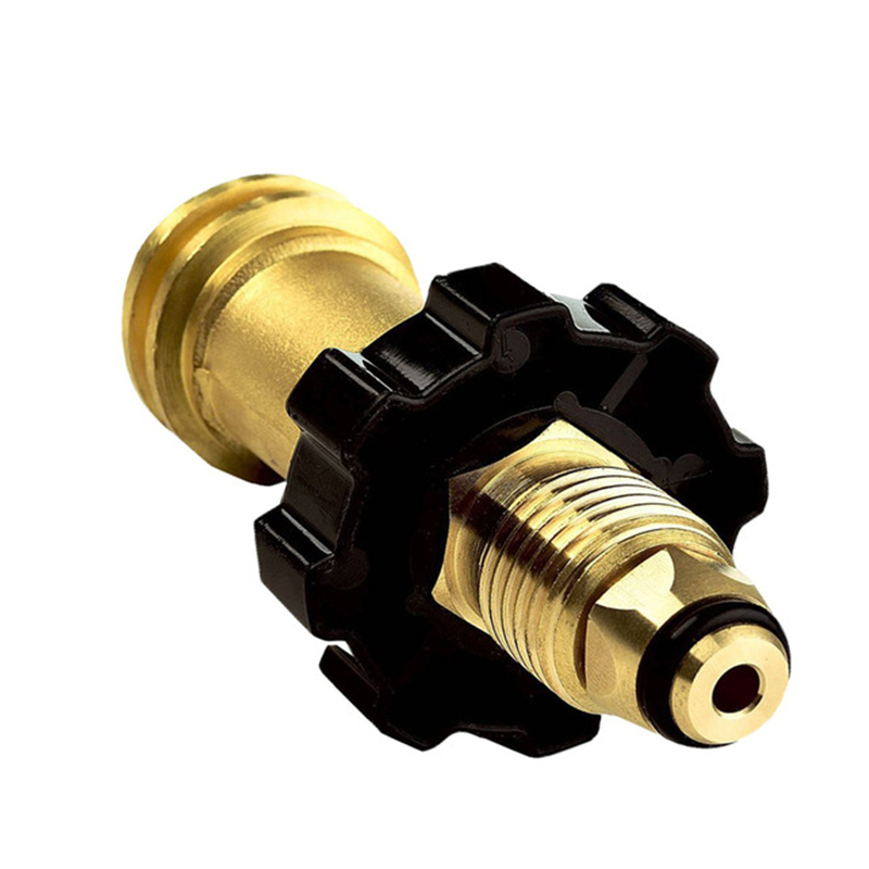 Propane Adapter Universal Fit Propane Tank Adaptor QCC1 POL - Fits 50lb Tank - No Tools Required Hand Wheel Easy GripPropane Adapter Universal Fit Propane Tank Adaptor QCC1 POL - Fits 50lb Tank - No Tools Required Hand Wheel Easy Grip