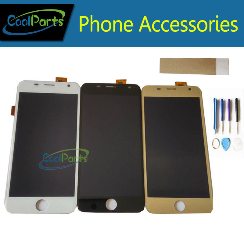 1PC/Lot For Prestigio Grace R7 PSP7501 Duo PSP 7501 duo PSP7501 LCD Display+Touch Screen Digitizer&Tool Black White Gold Color