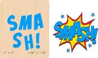 New SMASH! die gỗ Scrapbooking D-338 Cắt Chết
